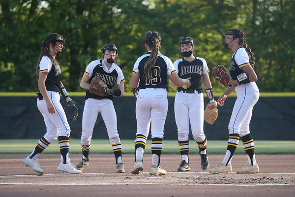 Chartiers Valley defeats Thomas Jefferson 9-5 in the WPIAL Class 5A first round softball playoff game, North Allegheny High School, May 18, 2021.