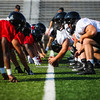 California University of Pennsylvania Football Team preseason camp practice, Adamson Stadium, August 12, 2021.  (Photo/Jeff Helsel)