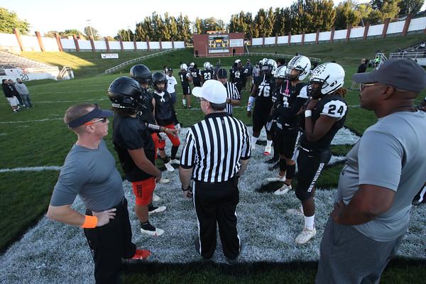 Monessen varsity football team defeats Jefferson Morgan 26-0 at Monessen High School stadium, Monessen, Pa. Sept. 24, 2021.