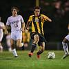Bentworth High School boys varsity soccer defeats Brentwood 4-1, Ellsworth, Pa., Sept. 27, 2021.