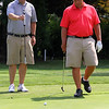 Swampscott, Ma. 8-6-17. John Rogers and Eric Suhr during four ball competition.