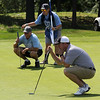 Swampscott, Ma\. 8-6-17. Bob Ward, Chris Kirby, and John Rogers during four ball competition.