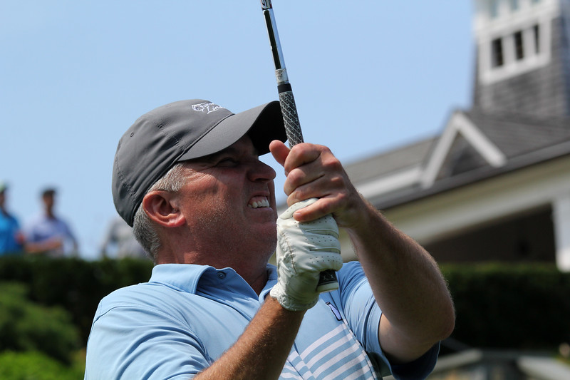 Swampscott, Ma. 8-6-17. Bob Ward during four ball competition.