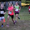 Lynn, Ma. 8-16-17. Cameron Harris, Madison Desilets, Bailey Ferguson, and Colton Ferguson finishing the short race at Lynn Woods.