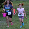 Lynn, Ma. 8-16-17. Pamela Milman-Stein and Mara Stein finish the short race at Lynn Woods.