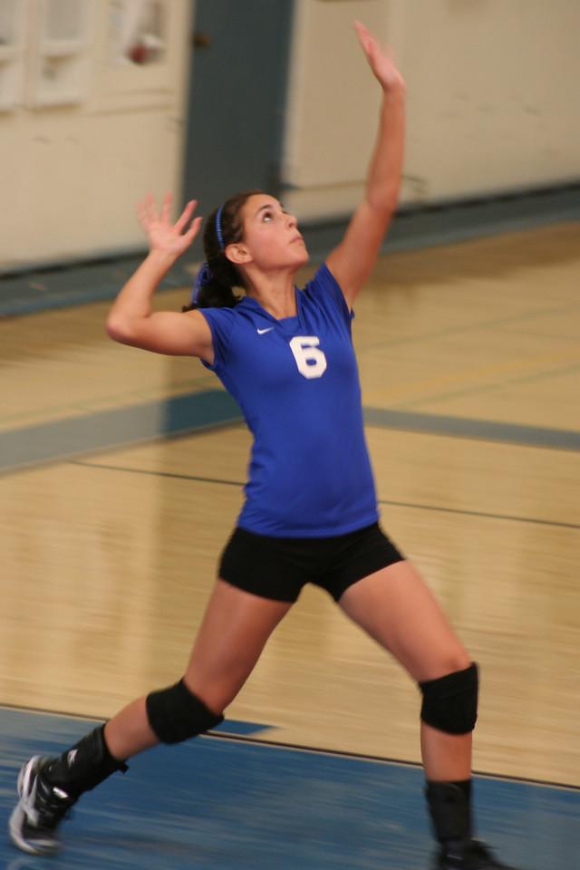 Brooke Tavernetti, Volleyball game, KCHS vs Salinas Sept 17, 2009