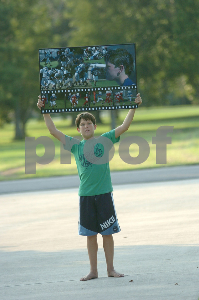 alex with poster