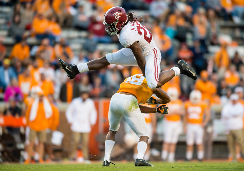 NCAA Football: Alabama at Tennessee