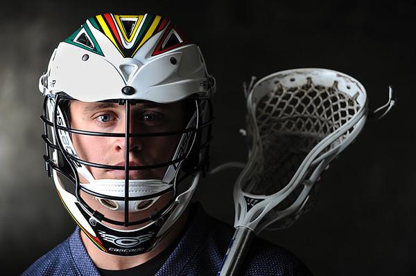 2/28/2013 - LXM Lacrosse - Irvine, CA: Whit McCarthy from team Maverick.  Photo by Bryan Lynn