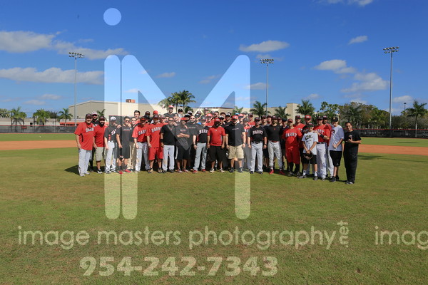 2015 Barry Baseball Alumni Game