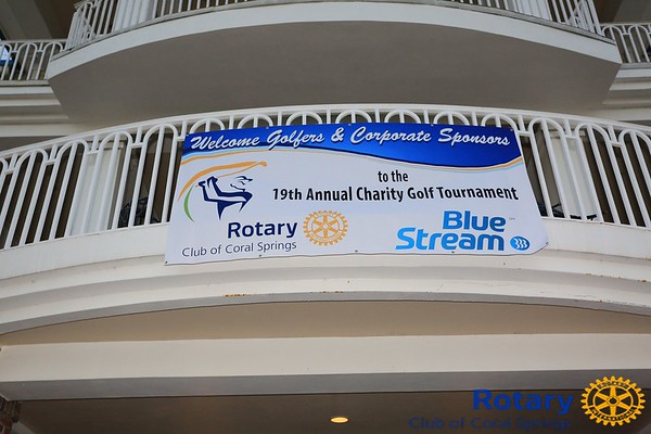 Blue Stream - Coral Springs Rotary Golf Fundraiser
