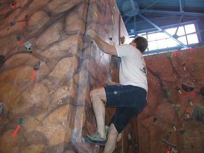 Bouldering Feb 2006