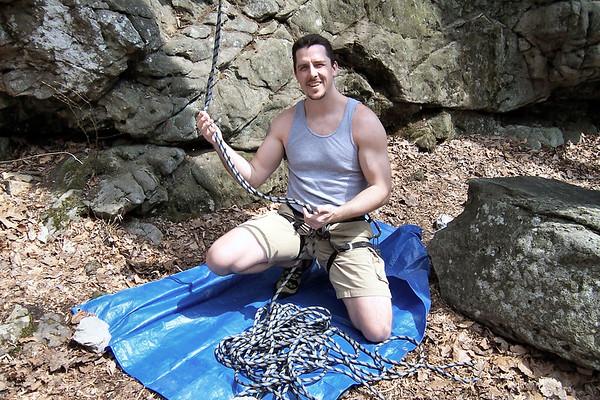 Climbing at Donation 4/30/06