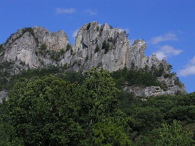 Seneca Rocks, WV, 2003
