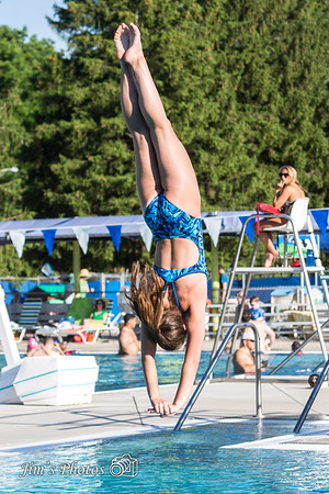 Swim - Dive Meet - June 24, 2014
