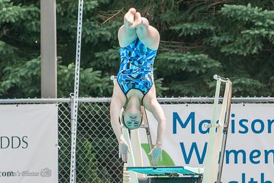 Swim - 2014 All-City Dive 15-18 Girls