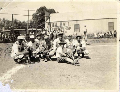 Santa Margarita Baseball Team, 1921.  #01.01.4845.