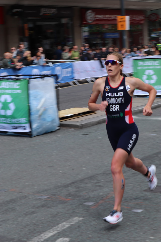 Jess Learmonth at the WTS Leeds Triathlon 2019