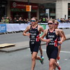 Stanford and holland triathlete at the WTS Leeds Triathlon 2019