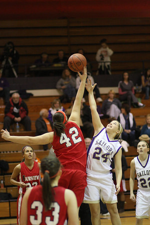 January 27, 2010 Vermilion's Varsity Girls' Basketball VS Fairview Park