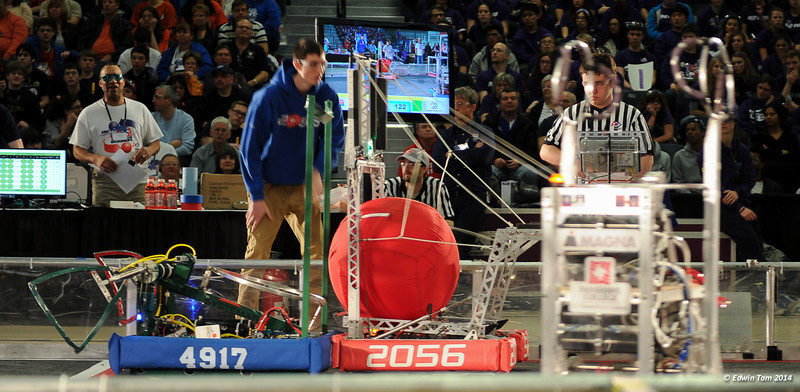 Windsor Essex Great Lakes Regional - First Robotics Competition held at the St. Denis Centre, University of Windsor on April 3 and 4, 2014.