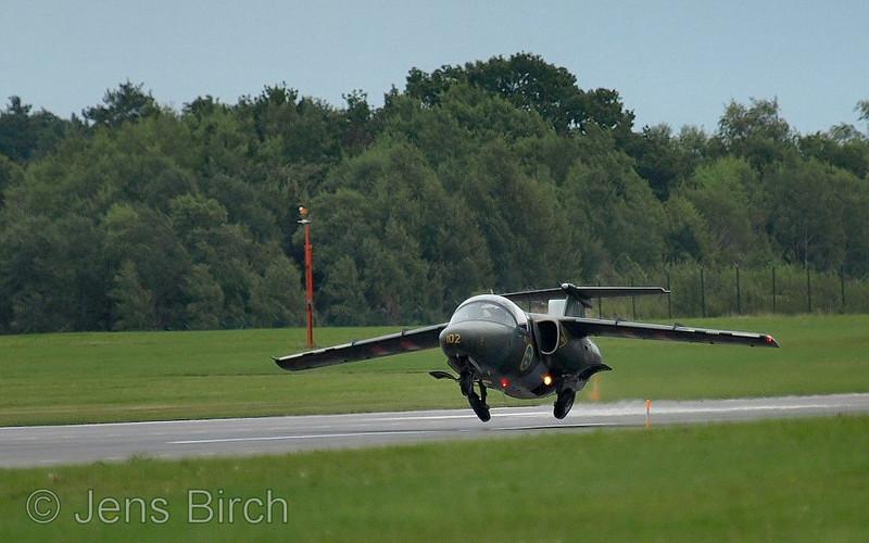SAAB 105 (SK 60) take off