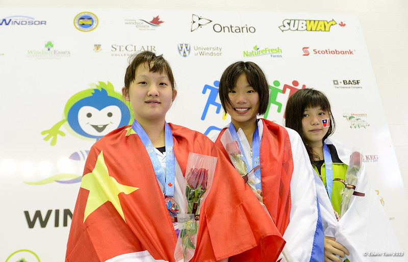 International Childrens Games in Windsor, Ontario, Canada - Swimming Competition Day 1 on August 16, 2013. Copyright Edwin Tam 2013.