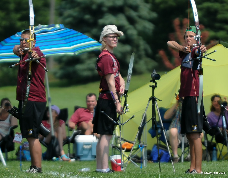 The 2014 Ontario Summer Games held in Windsor, Ontario, August 7-10, 2014. Archery held at Malden Park on August 9, 2014.