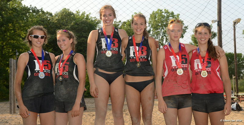 The 2014 Ontario Summer Games held in Windsor, Ontario, August 7-10, 2014. Beach volleyball held at Sandcastle on August 10, 2014.