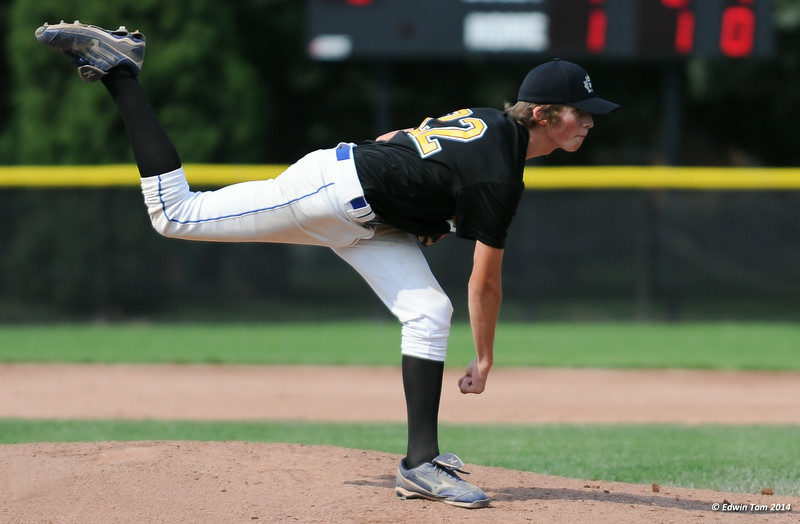 The 2014 Ontario Summer Games held in Windsor, Ontario, August 7-10, 2014. Boys baseball held at Mic Mac Park, Windsor on August 8, 2014.