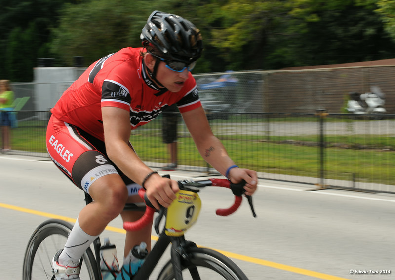 The 2014 Ontario Summer Games held in Windsor, Ontario, August 7-10, 2014. Road cycling held at Malden Park on August 10, 2014.