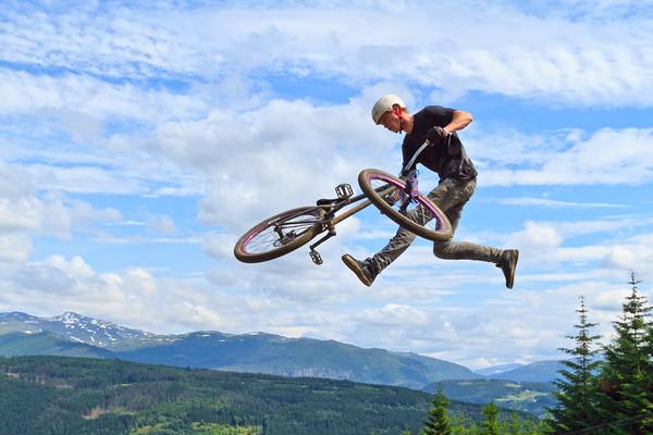 MTB / BMX Slope Style, Bavallstunet, 2nd July 2011
