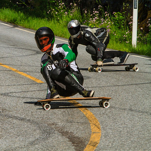 Longboard Freeride and Competition