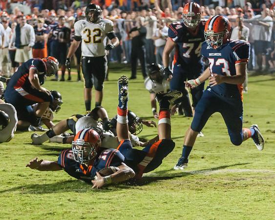 Beech vs. Hendersonville - September 28, 2012 - Beech W 28 - 21