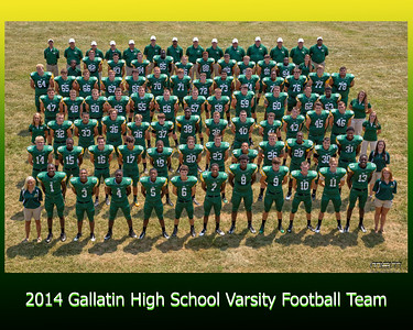 Gallatin Football Varsity