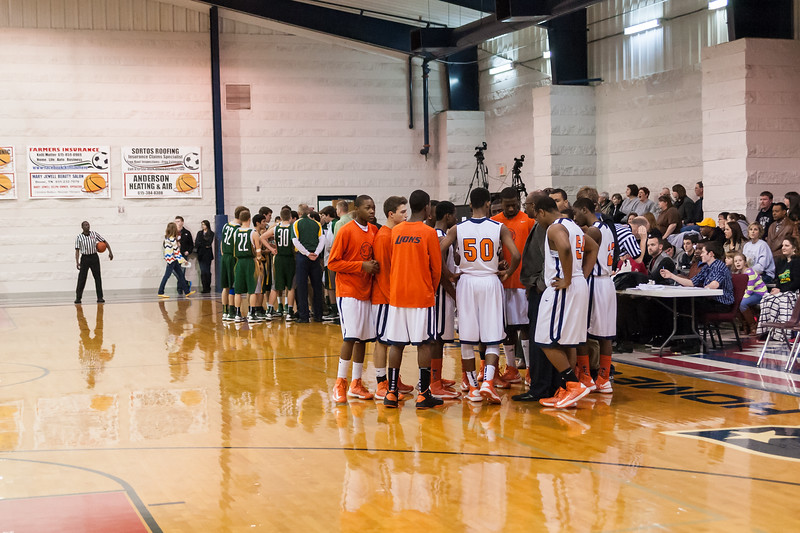 2013 TAACS State Basketball Championship - Hendersonville Christian Academy vs. Lighthouse Christian School
