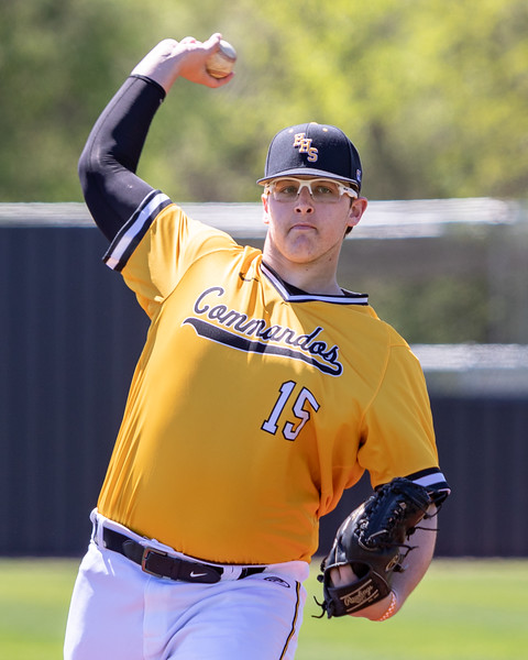 HHS Baseball Senior Action Portraits - April 15, 2019