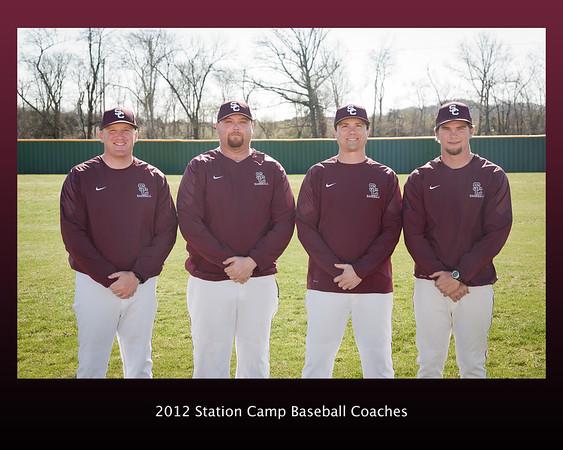 2012 Station Camp Baseball Team Portraits