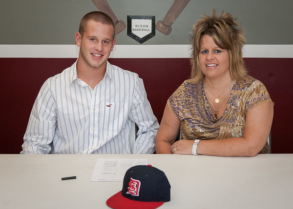 Lee Haeberle and Tyler Vaughn sign with Dyersburg State Community College - July 2012