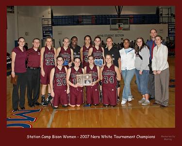 Station Camp Lady Bison - 2007 Nera White Tournament Champions