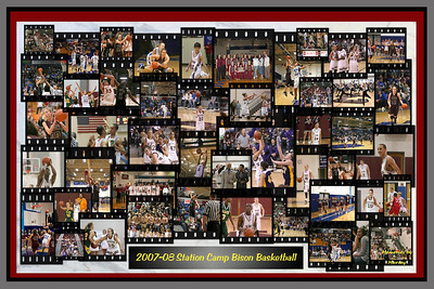 """2007-08 Station Camp High School Basketball Collage - Note:  This image has been designed to be reproduced as a full-size poster (up to 24"""" by 36"""").  If you are interested in purchasing a poster, you may order it off of my website in various poster-ratio (1.5 to 1) sizes.  If you are interested in licensing the file for quantity reproduction, please contact the photographer for additional details."""