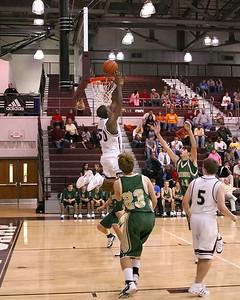 Quinton West displays a little magic under the net