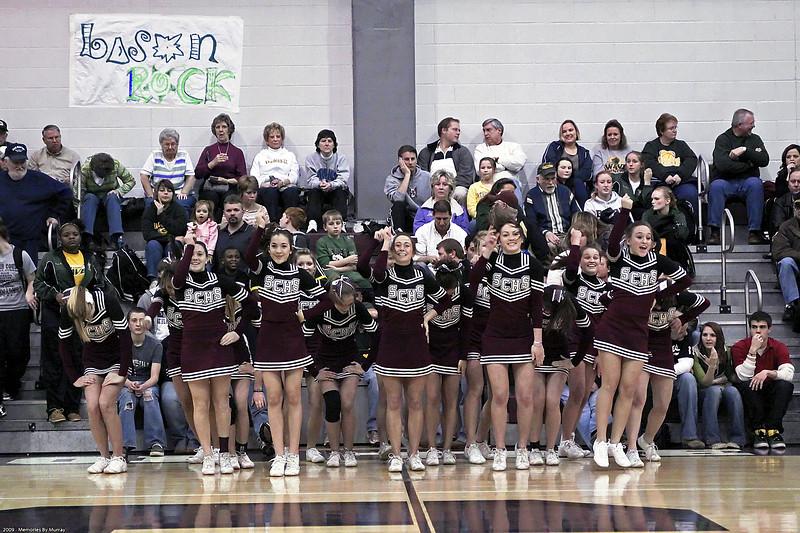 Cheerleaders Special Performance - February 16, 2009