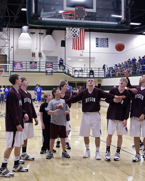 Station Camp Bison Men vs. White House District 8 AA Champtionship Game - Part 1