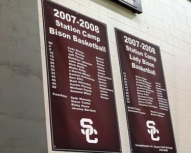 2007 - 2008 Bison Varsity Basketball Rosters