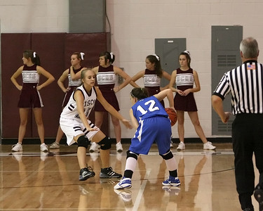Paige Carrigan on the defense