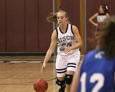 Page Carrigan charges up the court