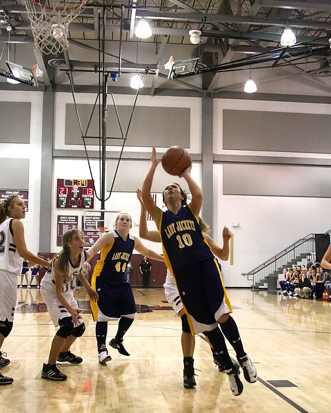 Station Camp Bison Women vs. Trousdale County Yellow Jackets - Part 1