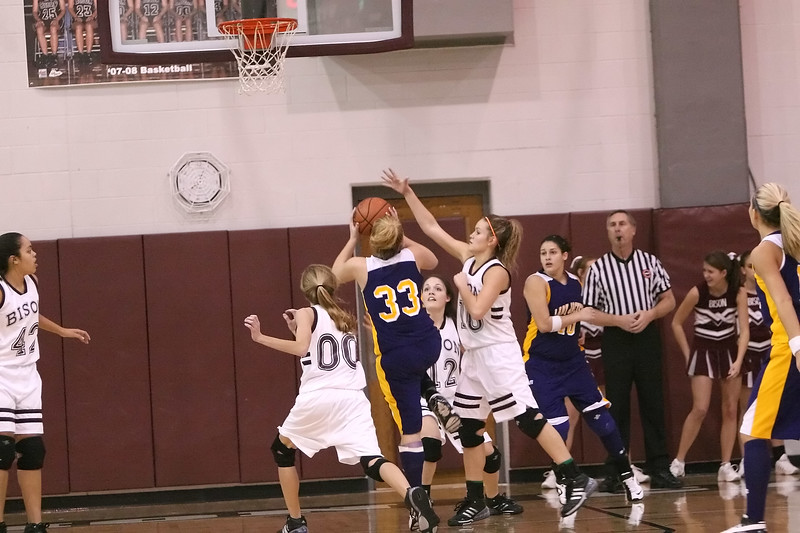 Station Camp Bison Women vs. Trousdale County Yellow Jackets - Part 2