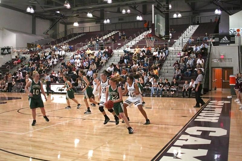 Station Camp High School Bison Women vs. Greenbrier Bobcats - Part 1